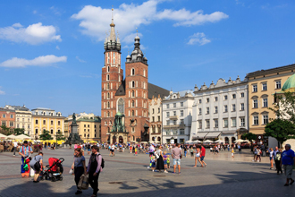 Kraków, Altstadt