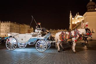 Kraków, nachts
